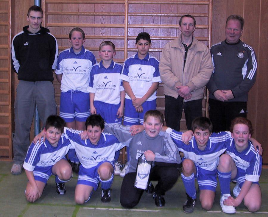 D2-Jugend ist Hallenmeister 2003