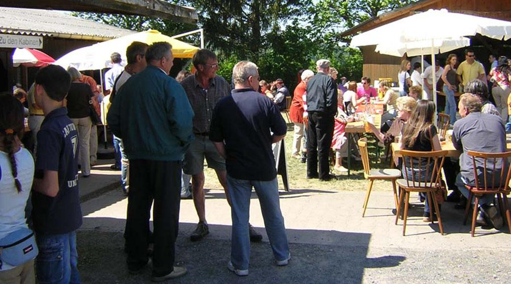 Grillfest am 1. Mai 2007