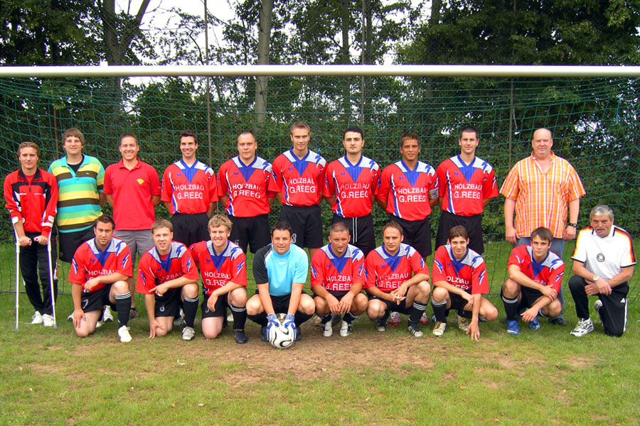 Die 1. Mannschaft am 19. August 2007