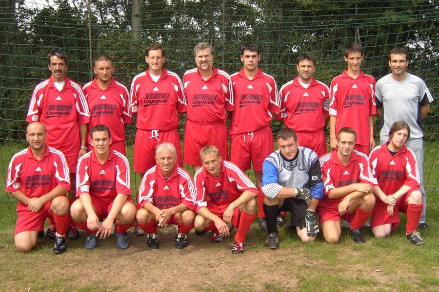 Die 2. Mannschaft am 19. August 2007