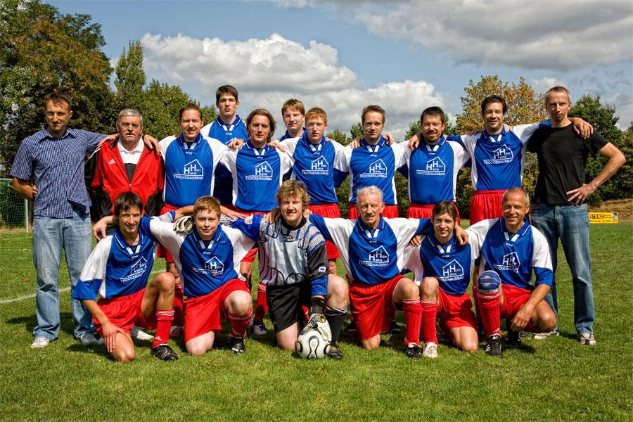 Die 2. Mannschaft am 6. September 2009