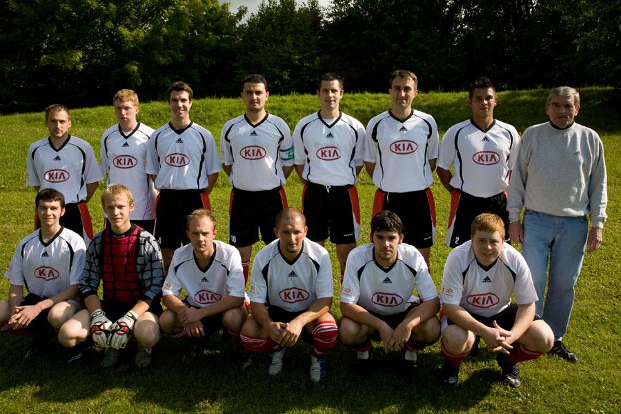 Die 1. Mannschaft am 21. September 2008