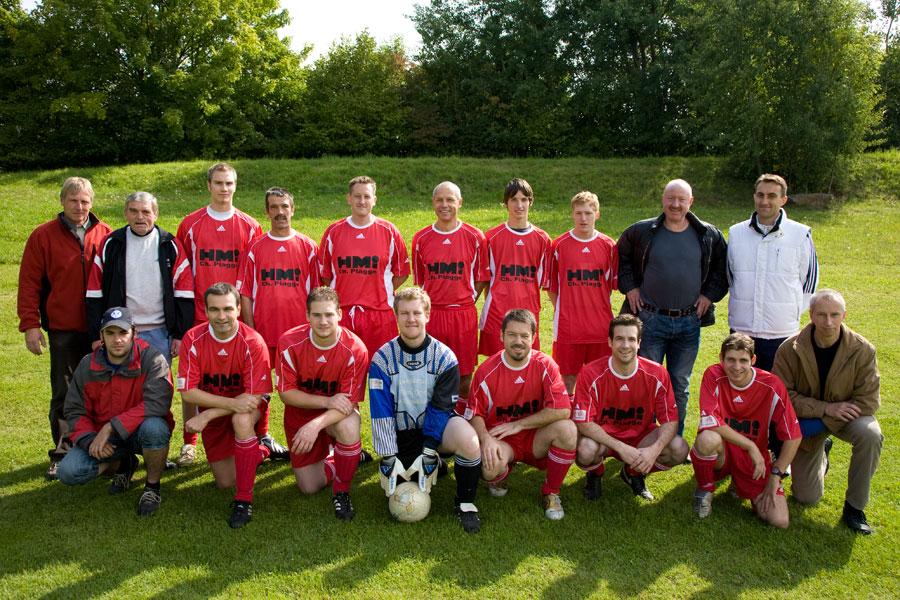 Die 2. Mannschaft am 21. September 2008
