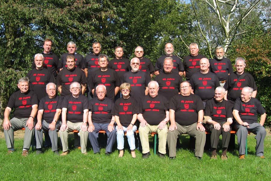 Gründungsmitglieder am 23. September 2007