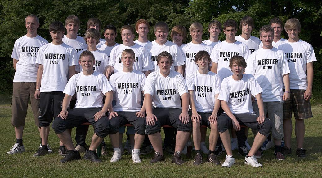 Die A-Junioren sind Gruppensieger der Kreisklasse Dieburg