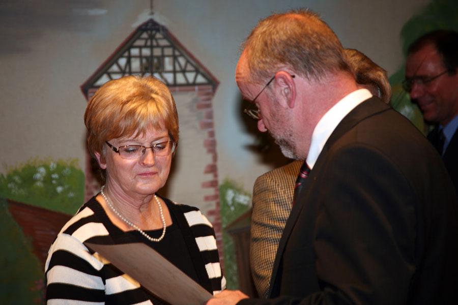 Birgit Weber am 29. Oktober 2009