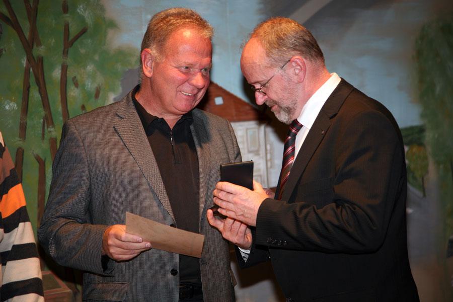Hans Werner am 29. Oktober 2009