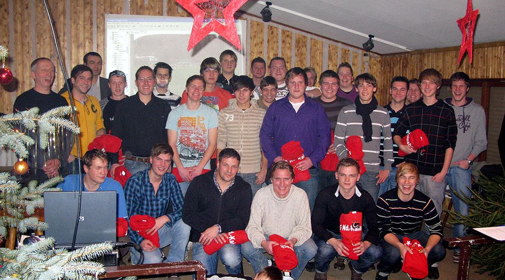 Weihnachtsfeier am 19. Dezember 2009