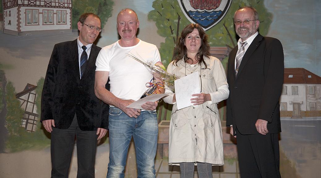 Marina und Jochen Sterz erhalten hohe Auszeichnungen der Gemeinde Brensbach