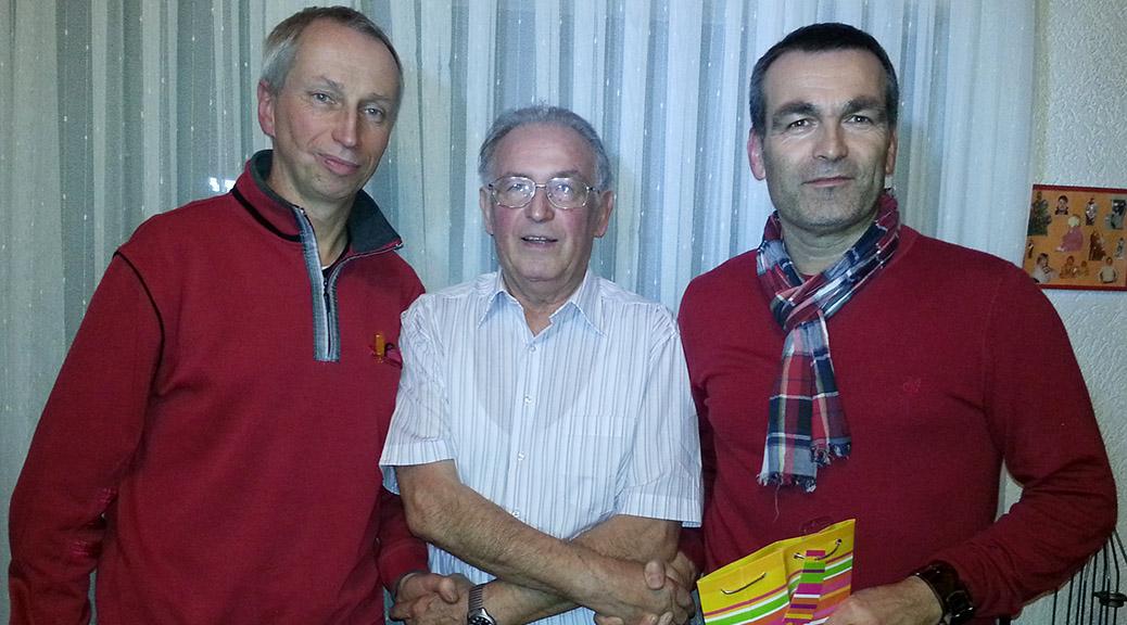 Werner Schollenberger spielt auch mit 75 noch aktiv Fußball