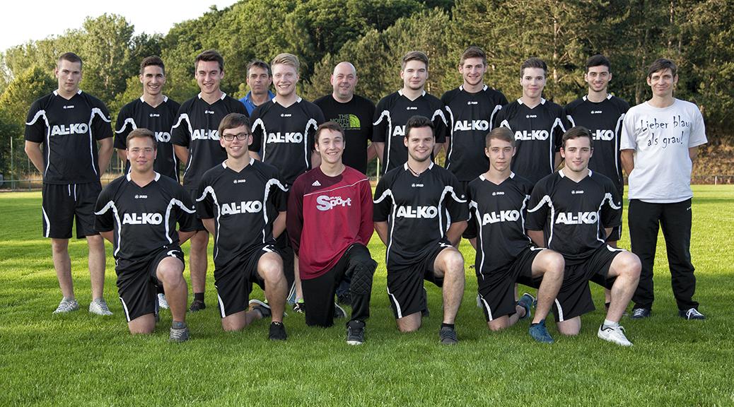 Die A-Junioren der JSG Brensbach/Nieder-Kainsbach/Hummetroth am 27. Juni 2015