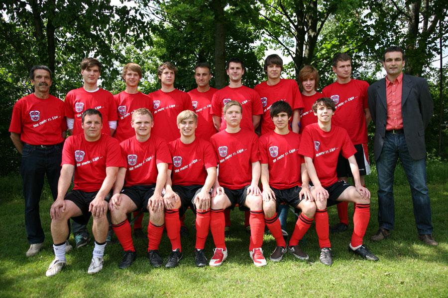 Die 1. Mannschaft am 29. Mai 2010