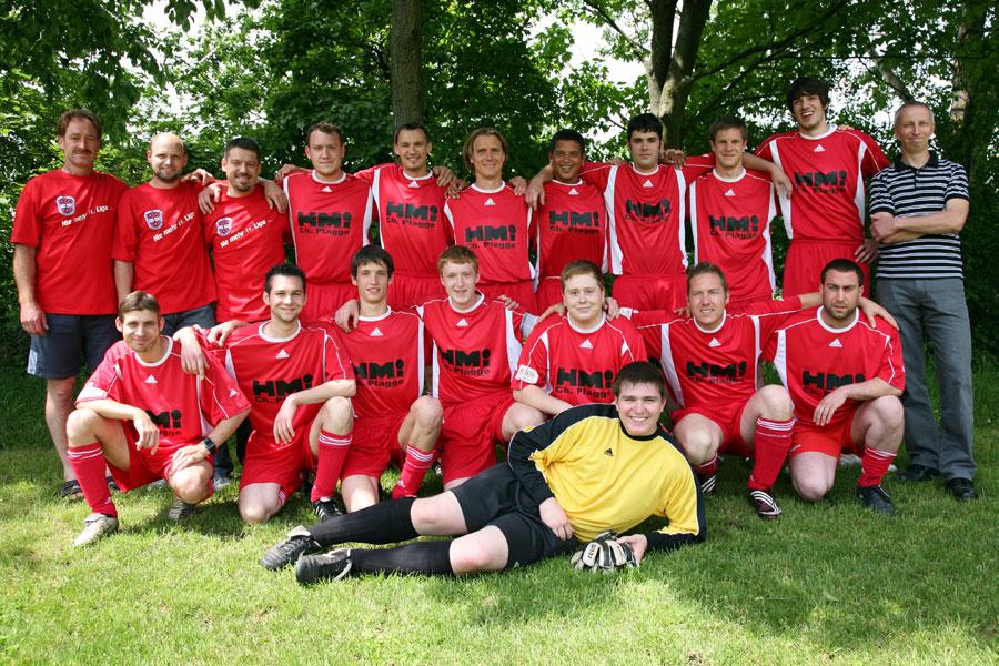 Die 2. Mannschaft am 29. Mai 2010