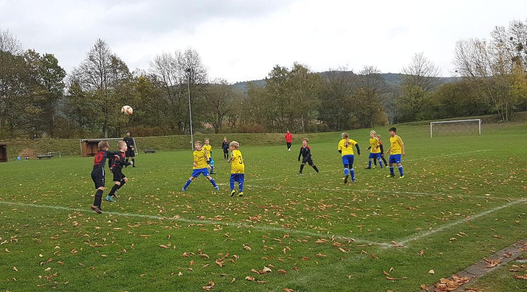 E1-Junioren gewinnen gegen den FV Mümling-Grumbach mit 2:0 Toren