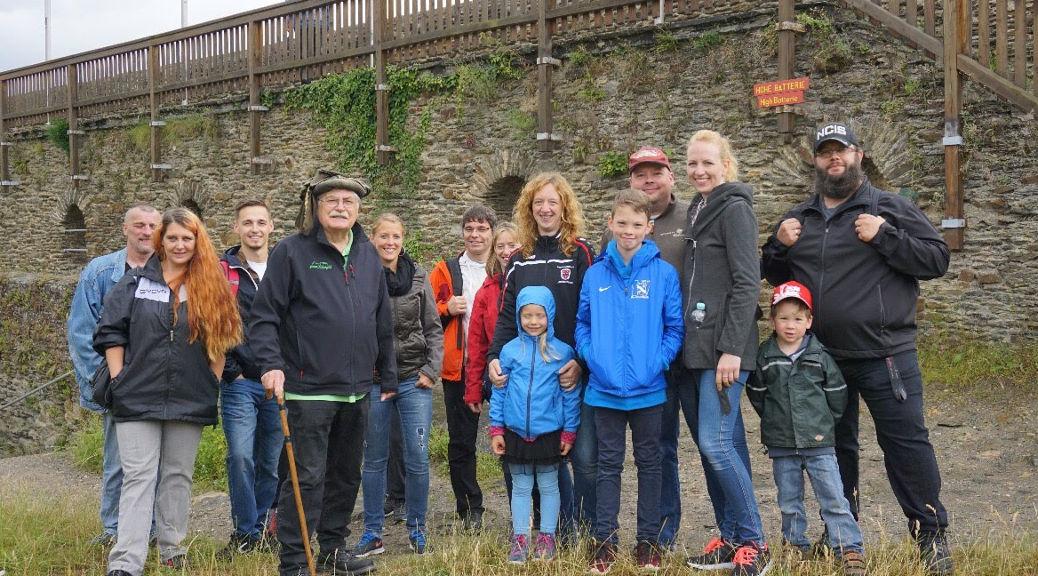 Abschlussfahrt der Junioren führt zur Burg Rheinfels