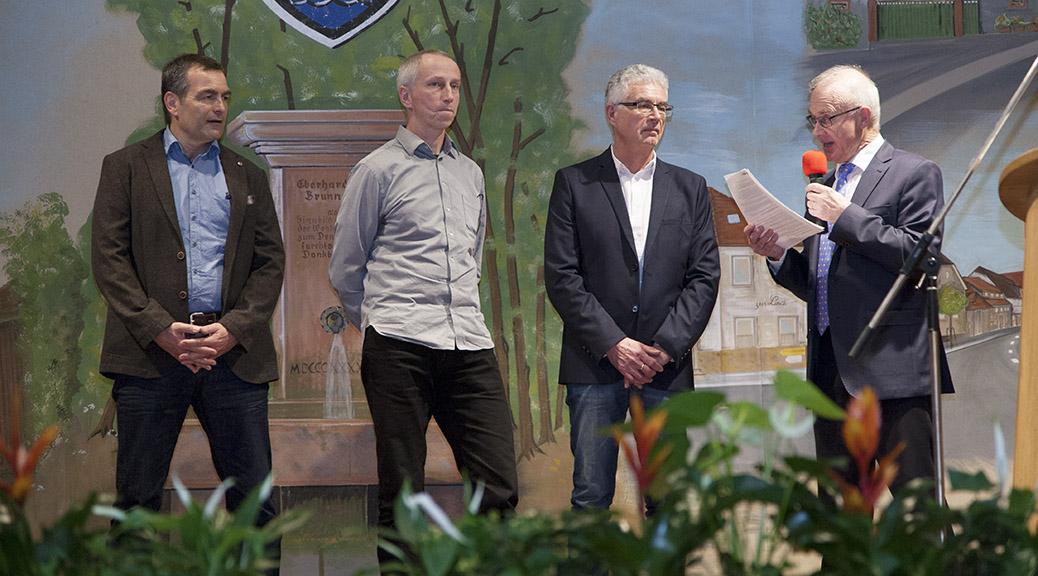 Gemeinde Brensbach zeichnet Vorstandsmitglieder aus