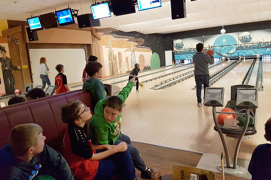 D-Junioren am 26. Januar 2019 im Bowling-Center