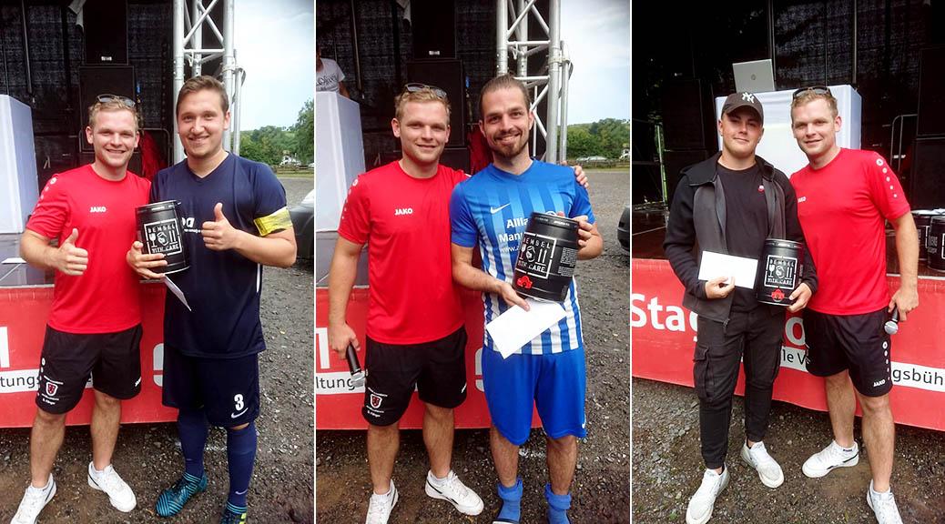 SV Groß-Bieberau gewinnt Blitzturnier im Elfmeterschießen