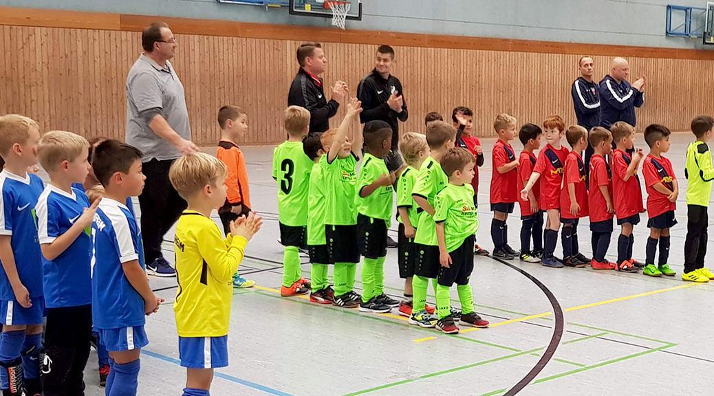G-Junioren zeigen gegen Top-Mannschaften tolle Leistung